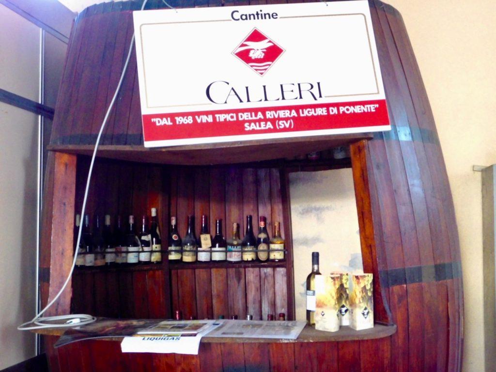 le bottiglie storiche di Cantine Calleri