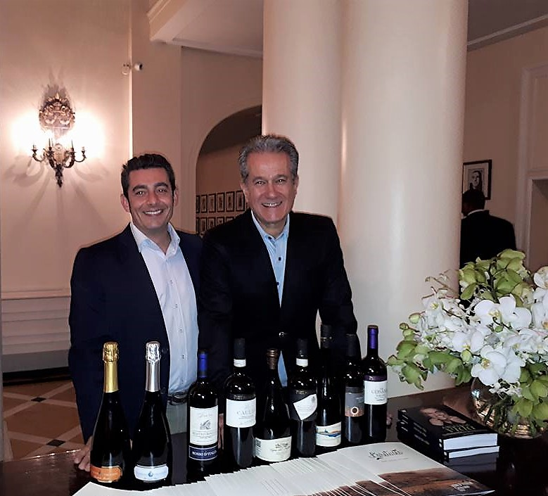 Giuseppe Peluso and Antonio Carlos Pedroni