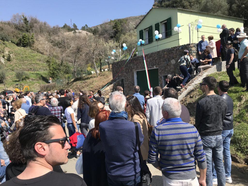 L'inaugurazione della nuova Cantina di Cà du Ferrà a Bonassola