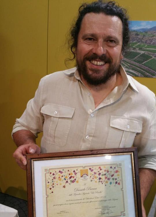 Daniele Parma dell'azienda La Ricolla