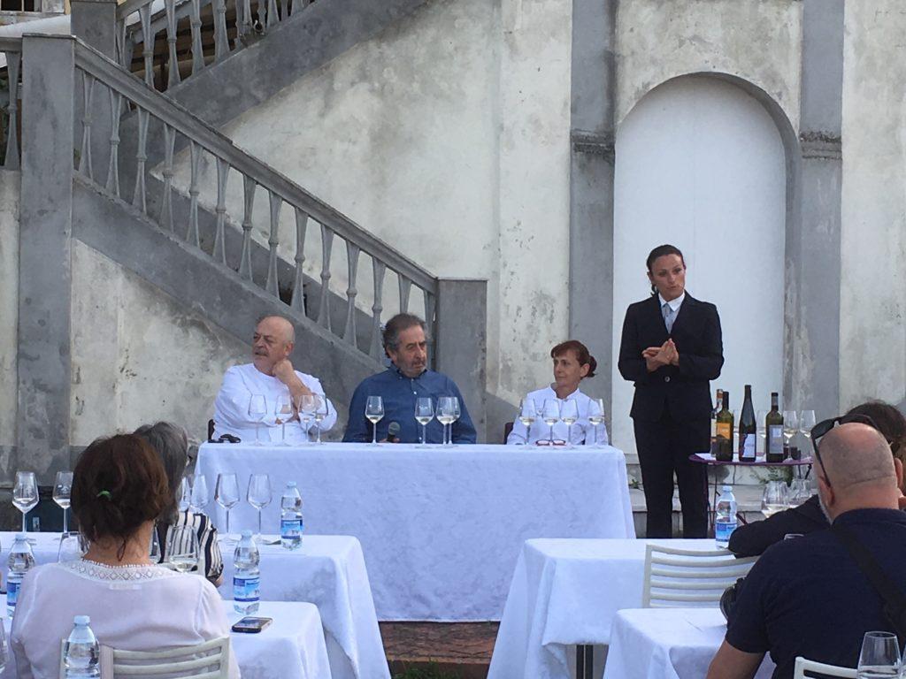 Da sinistra, Mauro Ricciardi, Salvatore Marchese, Luciana Ambrosini e Paola Bacigalupo