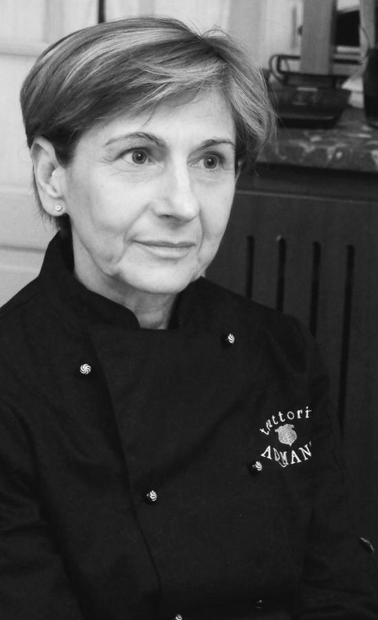 Luciana Ambrosini chef della Trattoria Armanda