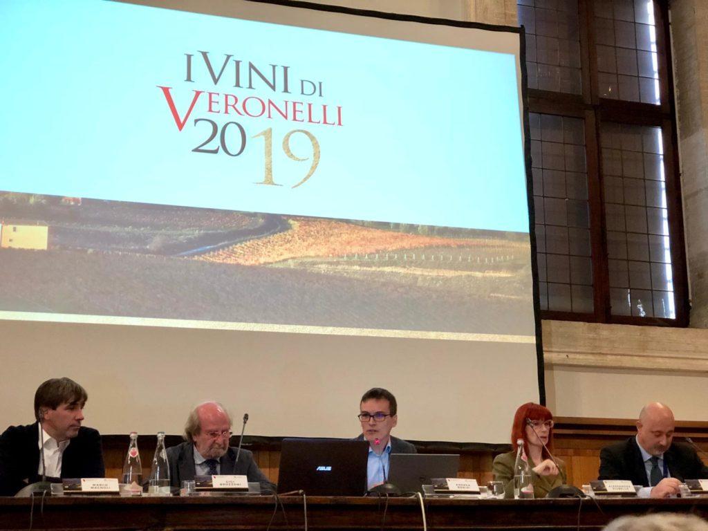 I relatori della premiazione nei locali del Cenacolo Palladiano della Fondazione Giorgio Cini