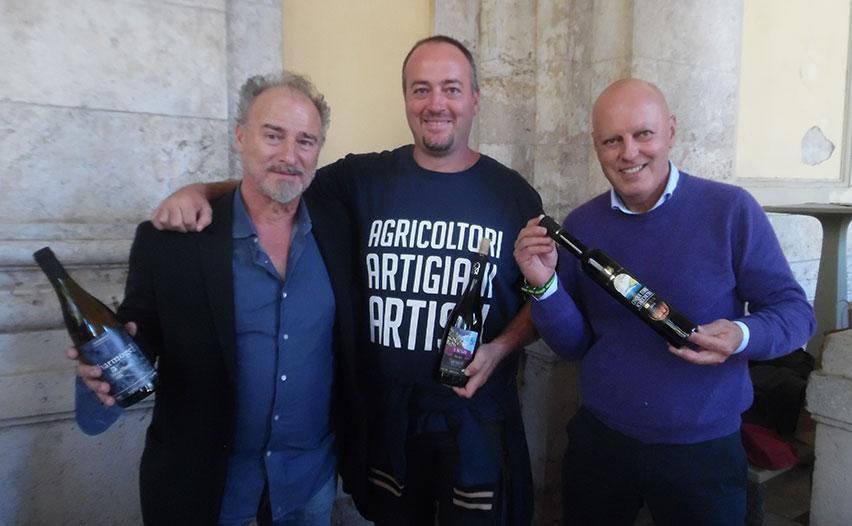 Walter De Batté, Heydi Bonanini e Luciano De Batté