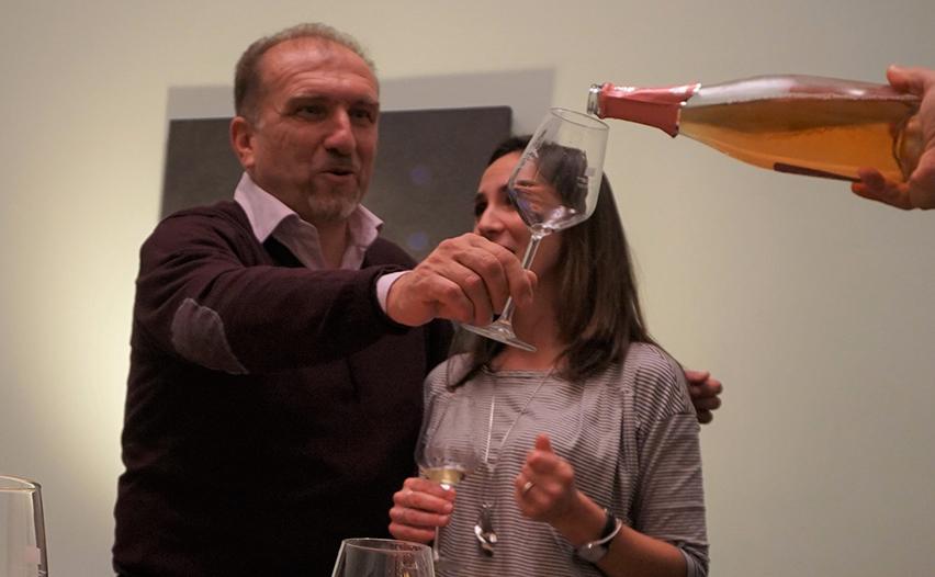 Marco Rezzano and Annamaria Giannetto Pini