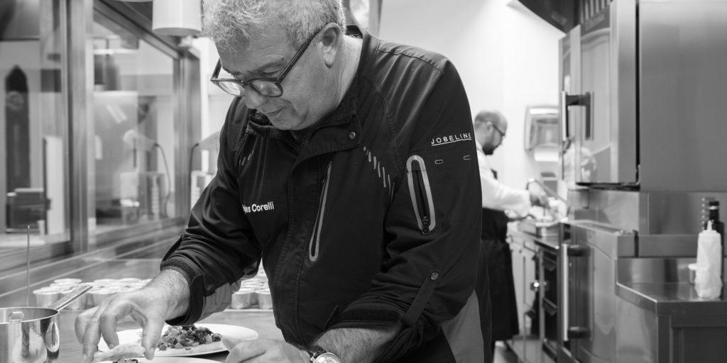 Igles Corelli, chef stellato