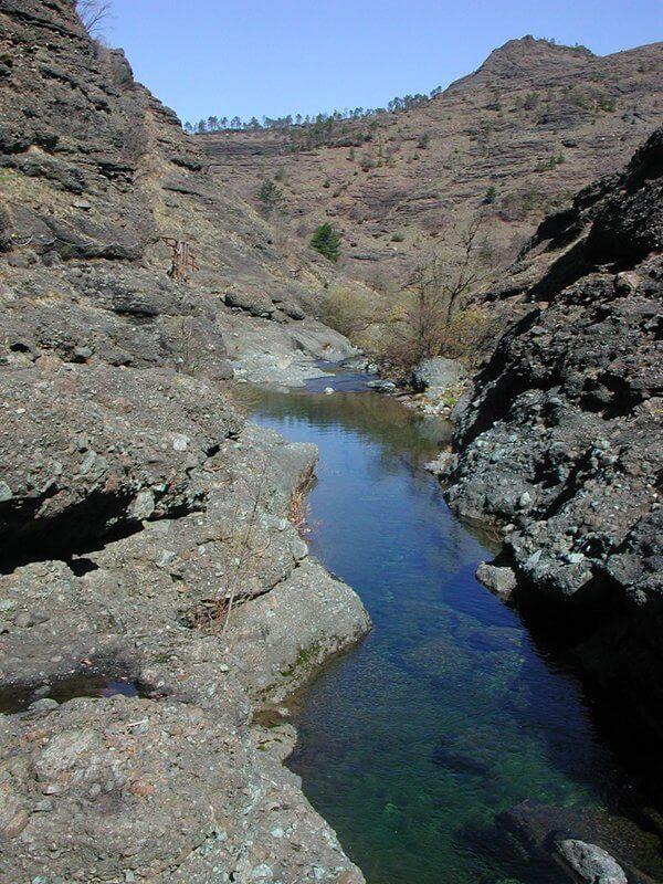 I canyon della Val Gargassa