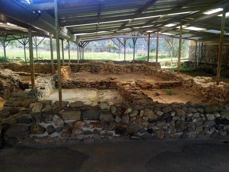 L'interno della Villa Romana del Varignano