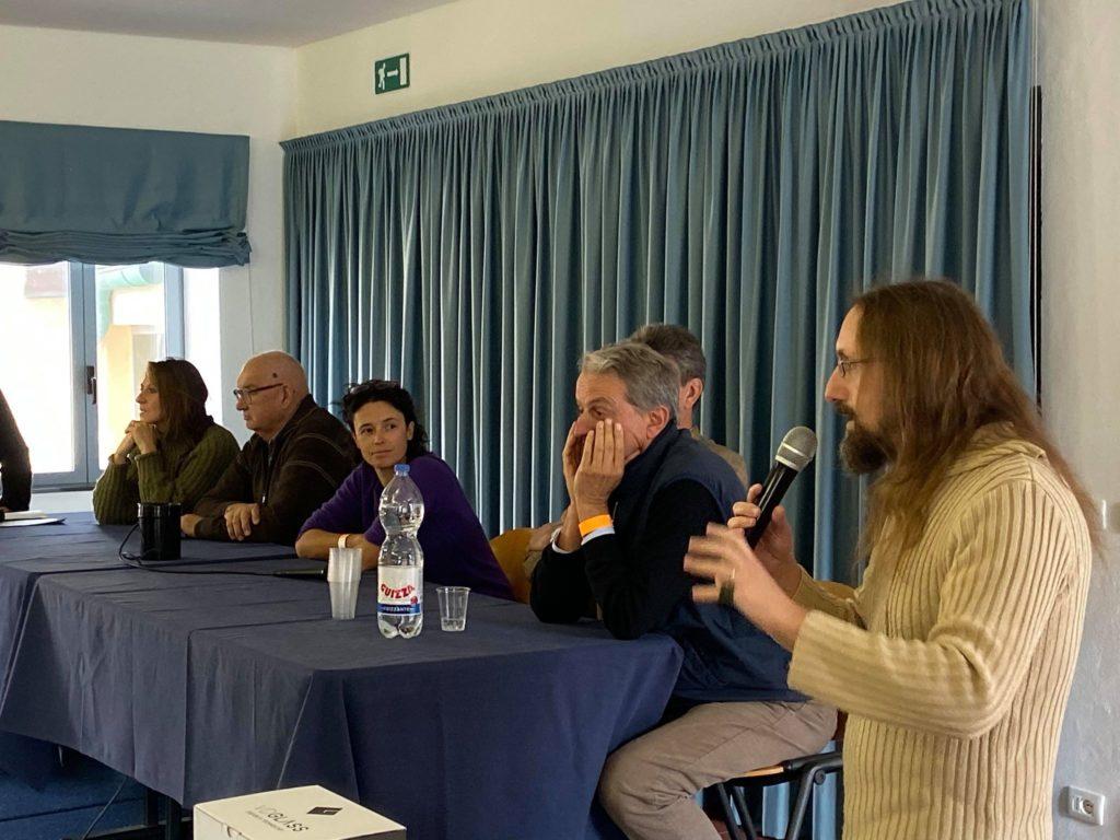 Un altro momento del convegno di The Wine Revolution
