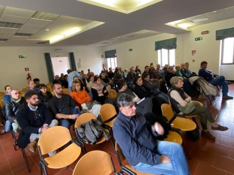 Il pubblico al convegno di The Wine Revolution