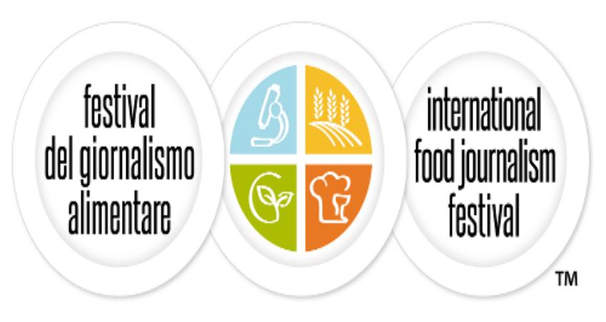 Il logo del Festival del Giornalismo alimentare