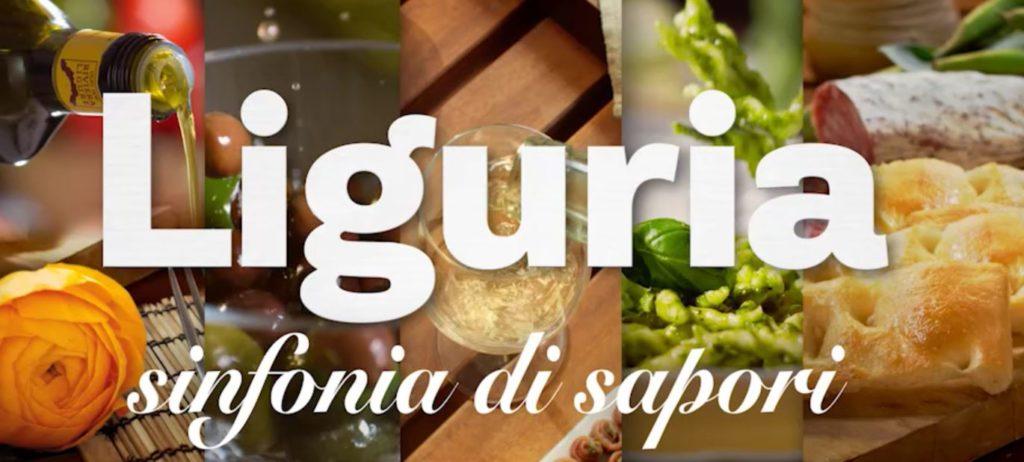 """Un frame del video della campagna """"Liguria, sinfonia di sapori"""""""