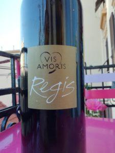 La bottiglia di Regis di Vis Amoris